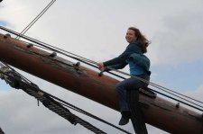 On the Bowsprit!